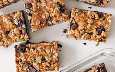 Honey Nut Trail Mix Bars (GF)